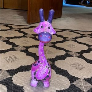 3 for $12 purple giraffe